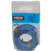 Infinite Innovations UA501610 30 in. Blue Primary Insulation Automobile Wire, 16 Awg
