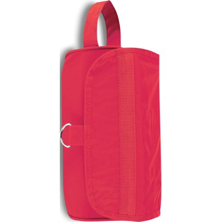 Red Zipper Roll Up Kit Toiletry (11x8.5mm) - image 1 de 1