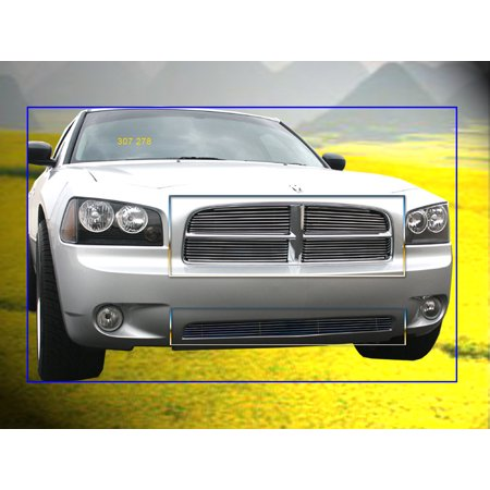 Fedar Billet Grille Combo For  2005-2010 Dodge