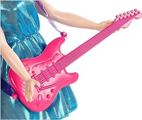 Barbie Fashionistas Pop Star Doll Outfit Pink Guitar ONLY Music Instrument NEW