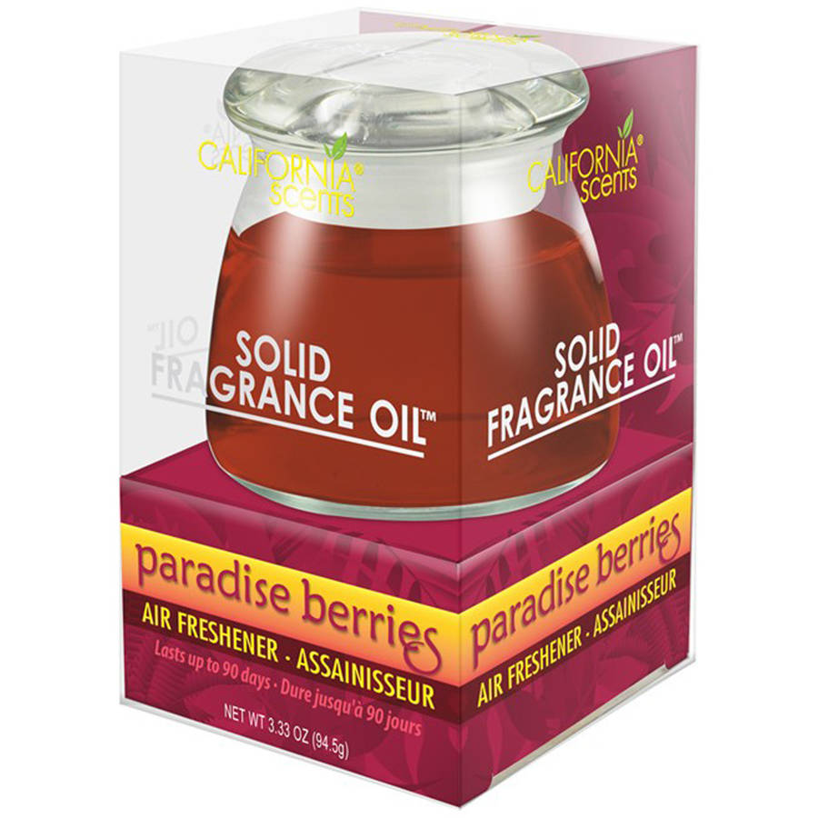 California Scents Solid Fragrance Oil, Paradise Berries