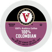 Victor Allen's Coffee K Cups, 100% Colombian Single Serve Medium Roast Coffee, 200 Count, Keurig 2.0 Brewer Compatible