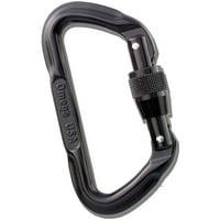 Omega Pacific Lite D Screw-Lock Carabiner