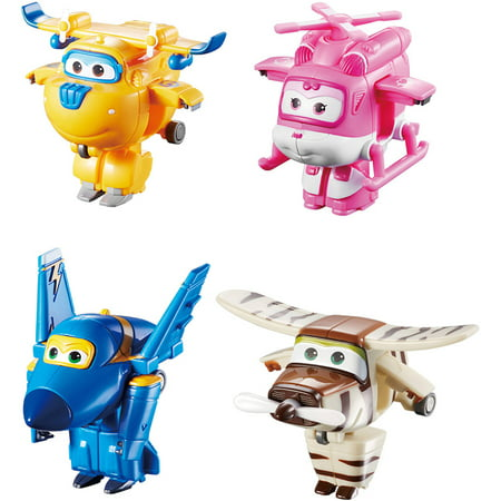 Super Wing Mini Transform A Bot  4 Pack B