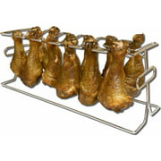 King Kooker #12WR - 12 Slot Leg and Wing Rack for Poultry