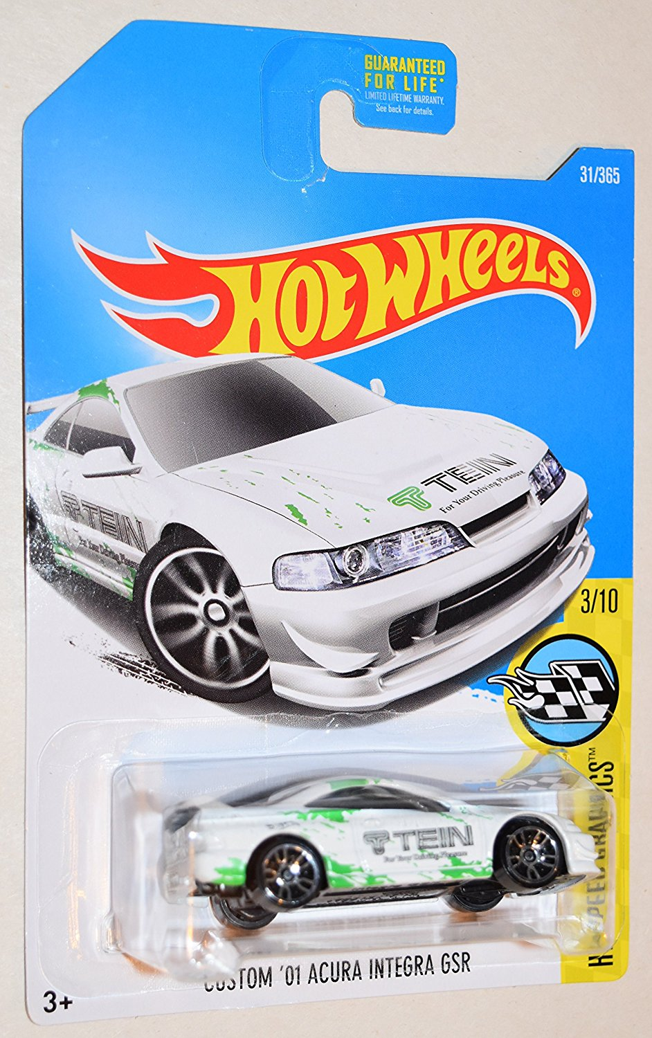 Hot Wheels Custom 01 Acura Integra Gsr 1 64 Diecast Car Toys Hobbies Contemporary Manufacture