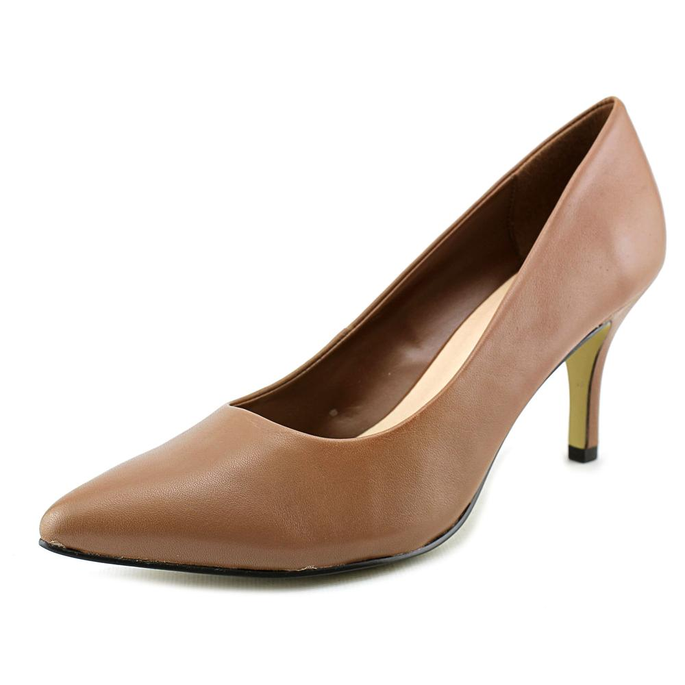 Bella Vita Define WW Pointed Toe Leather Heels by Bella Vita