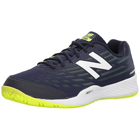 Men`s 896v2 D Width Tennis Shoes Pigment and Highlight