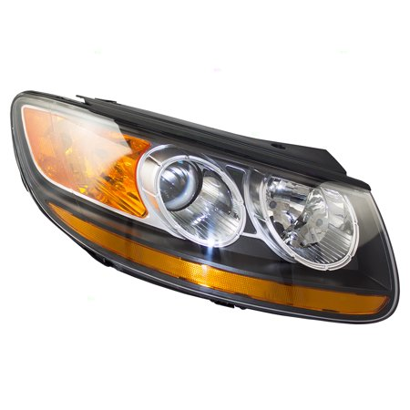 Passengers Headlight Headlamp Replacement for Hyundai Santa Fe SUV -