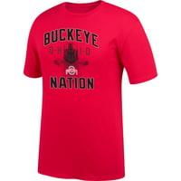 Men's Scarlet Ohio State Buckeyes Buckeye Nation T-Shirt