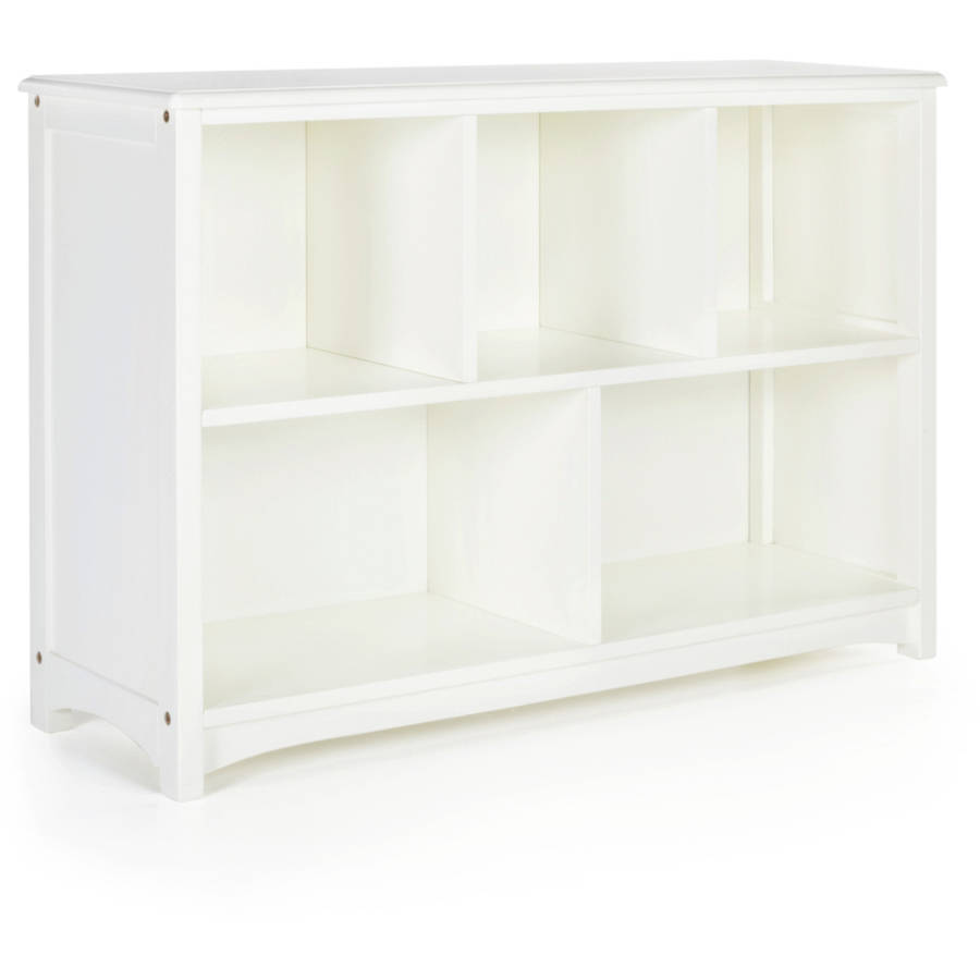 Guidecraft Bookshelf, Classic White