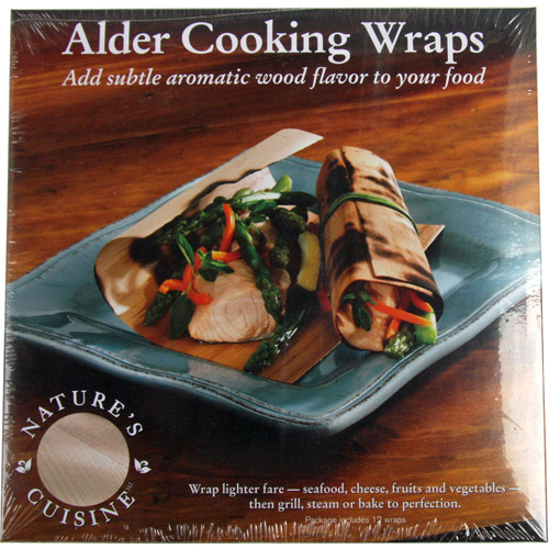 Natures Cuisine WRP005 Alder Cooking Wraps