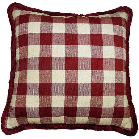 Better homes and gardens check pillow - Better homes and gardens pillows ...