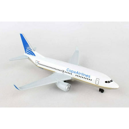 CopaAirlines Single Plane, White - Daron RT0204 - Toy Model Plane (Motorcycle Replica Model)