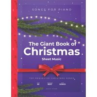 The Giant Book of Christmas Sheet Music (Paperback)