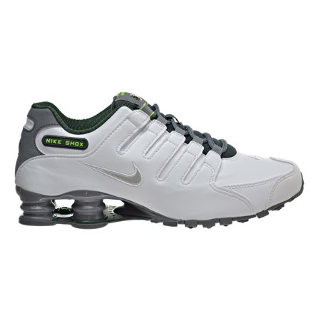 Nike Shox Nz White Metallic Platinum