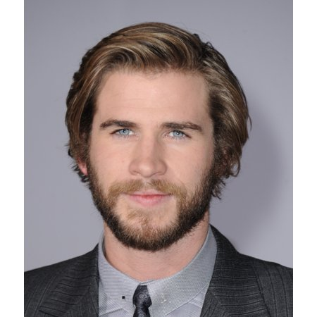 Liam Hemsworth At Arrivals For The Hunger Games Mockingjay  Part 1 Premiere Stretched Canvas -  (8 x