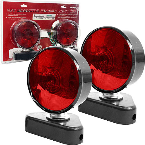 Stalwart 12V Magnetic Trailer Light Kit