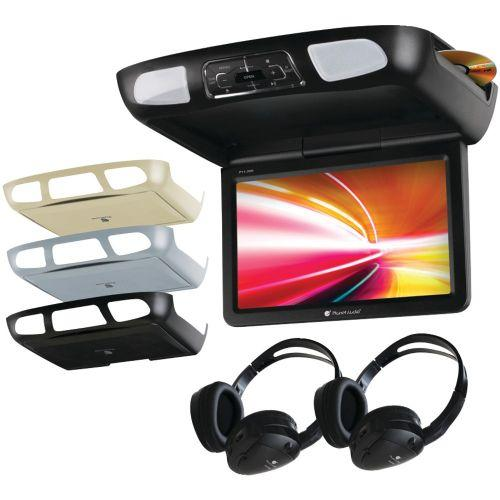 "PLANET AUDIO P11.2ES 11.2"" CEILING-MOUNT TFT DVD PLAYER WITH BUILT-IN IR TRANSMITTER and FM MODULATOR"