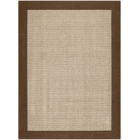 Mainstays Faux Sisal Olefin High Low Loop Tufted Area Rug