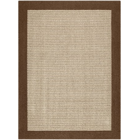 Mainstays Faux Sisal Olefin High Low Loop Tufted Area Rug or Runner ()