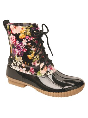 f617593655d5b Free shipping. Best Seller. Product Image Women's Rosetta Floral Mid-Calf  Duck Rain Boots