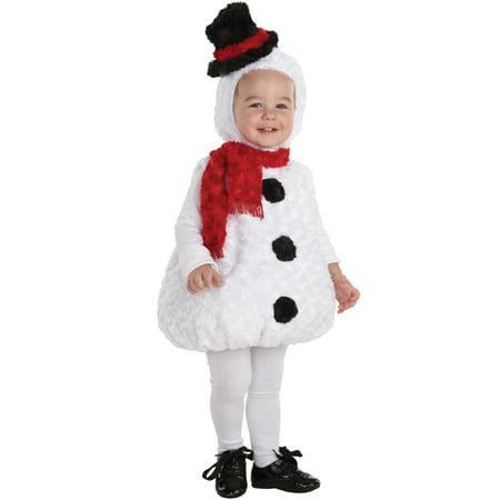 Snowman Toddler Christmas Costume