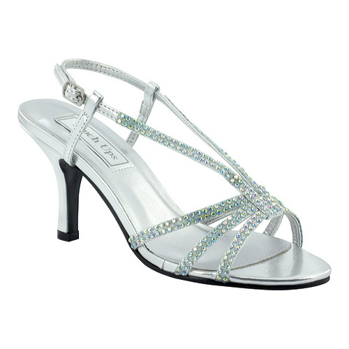 Touch Ups Lyric Women's Silver Sandals 6.5 W by Touch Ups