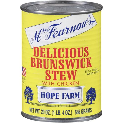 Boone Brands Mrs Fearnows Brunswick Stew, 20 oz