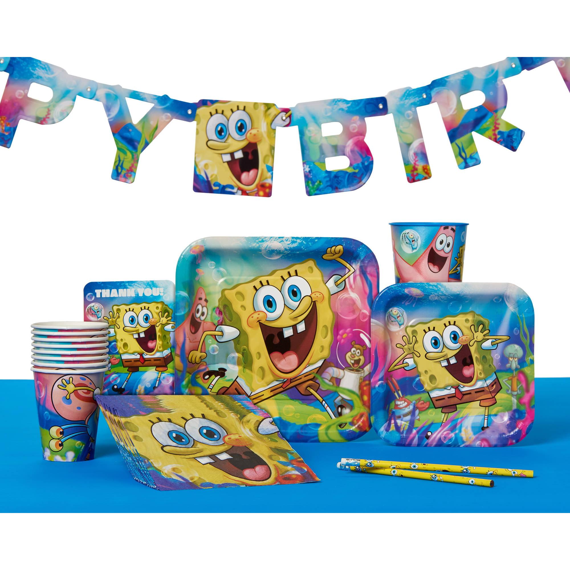 sc 1 st  Walmart.com & SpongeBob SquarePants Party Hats 8ct - Walmart.com