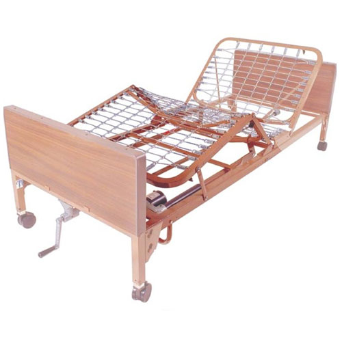 Drive Medical Foot Frame For Use With 15033 Ultra Light Full Electric Bed And 15235 - 1 Ea, 15049