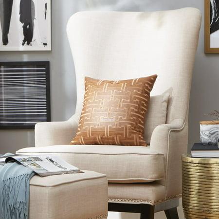 Pleasing Kingstown Home Matteo Wingback Chair And Ottoman Walmart Com Short Links Chair Design For Home Short Linksinfo