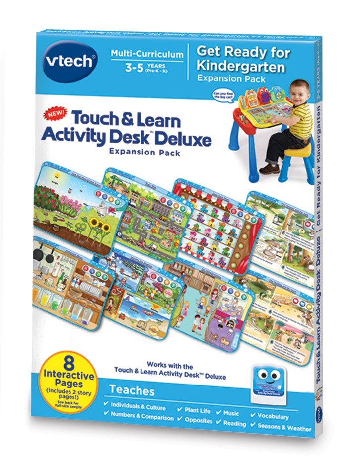 VTech Touch & Learn Activity Desk Deluxe Get Ready for Kindergarten by VTech