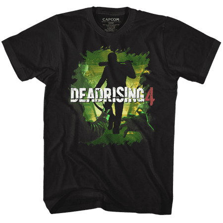 Dead Rising Dead 4 Black Adult T-Shirt Tee - image 1 of 1