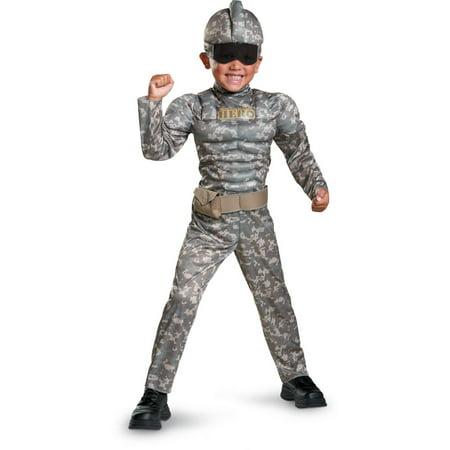 Combat Warrior Child Halloween Costume by Disguise