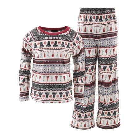 Fairy Pajamas (Cuddl Duds Boys Black Bear Fair Isle)
