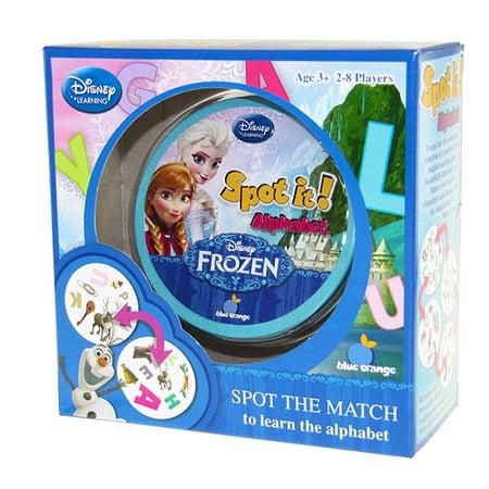 spot it! disney frozen - alphabet - Spot It Alphabet