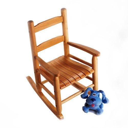 childs rocking chair pecan walmart