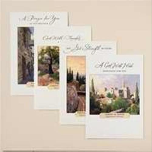 Dayspring Cards 61377 Card Boxed Get Well Kinkade Painter Of Light