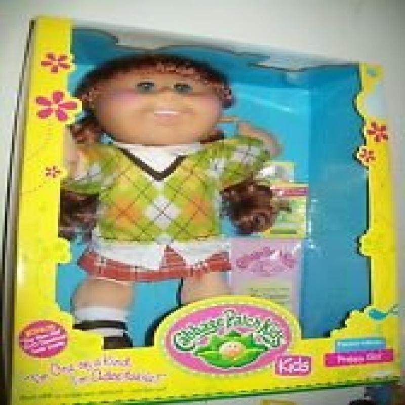 Cabbage Patch Kids Dressy Girl Brown Brown by Jakks Pacific