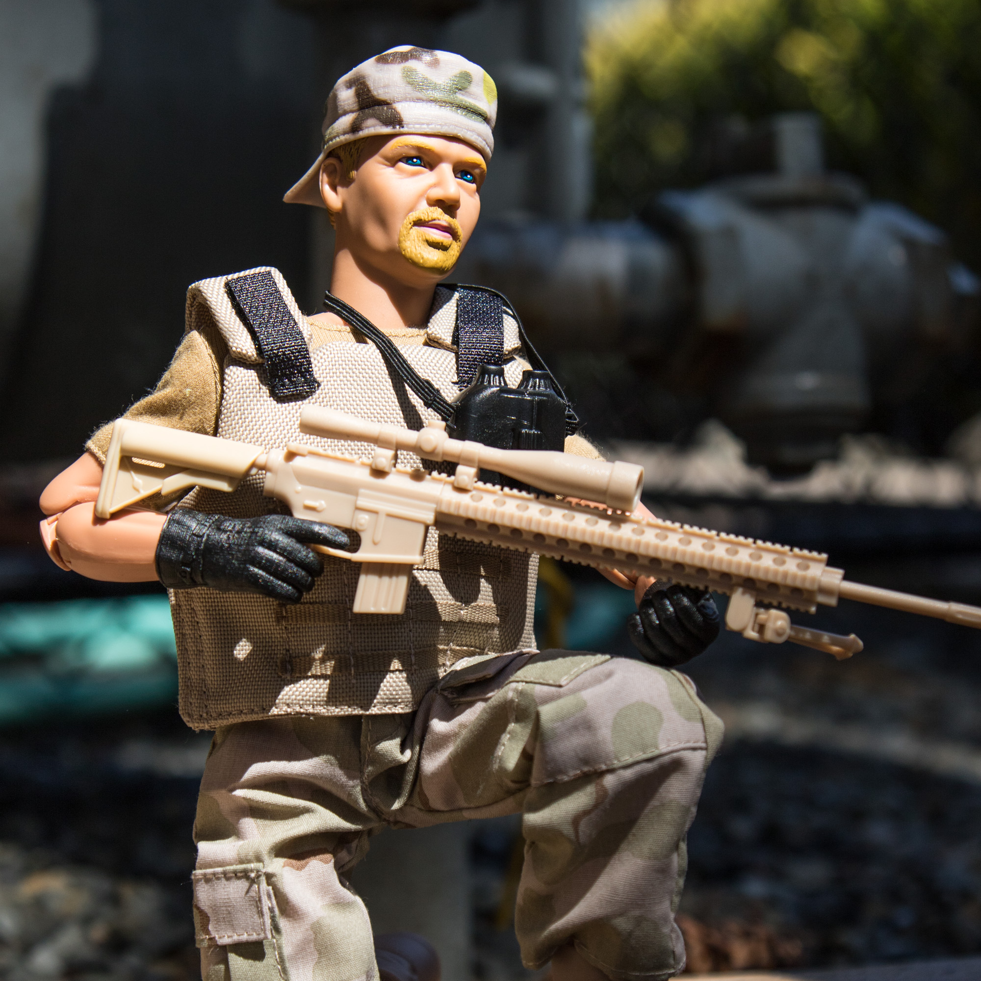 Army Toys Action Figure by World Peacekeepers Collectible 12 Inch Military Action Figure... by World Peacekeepers