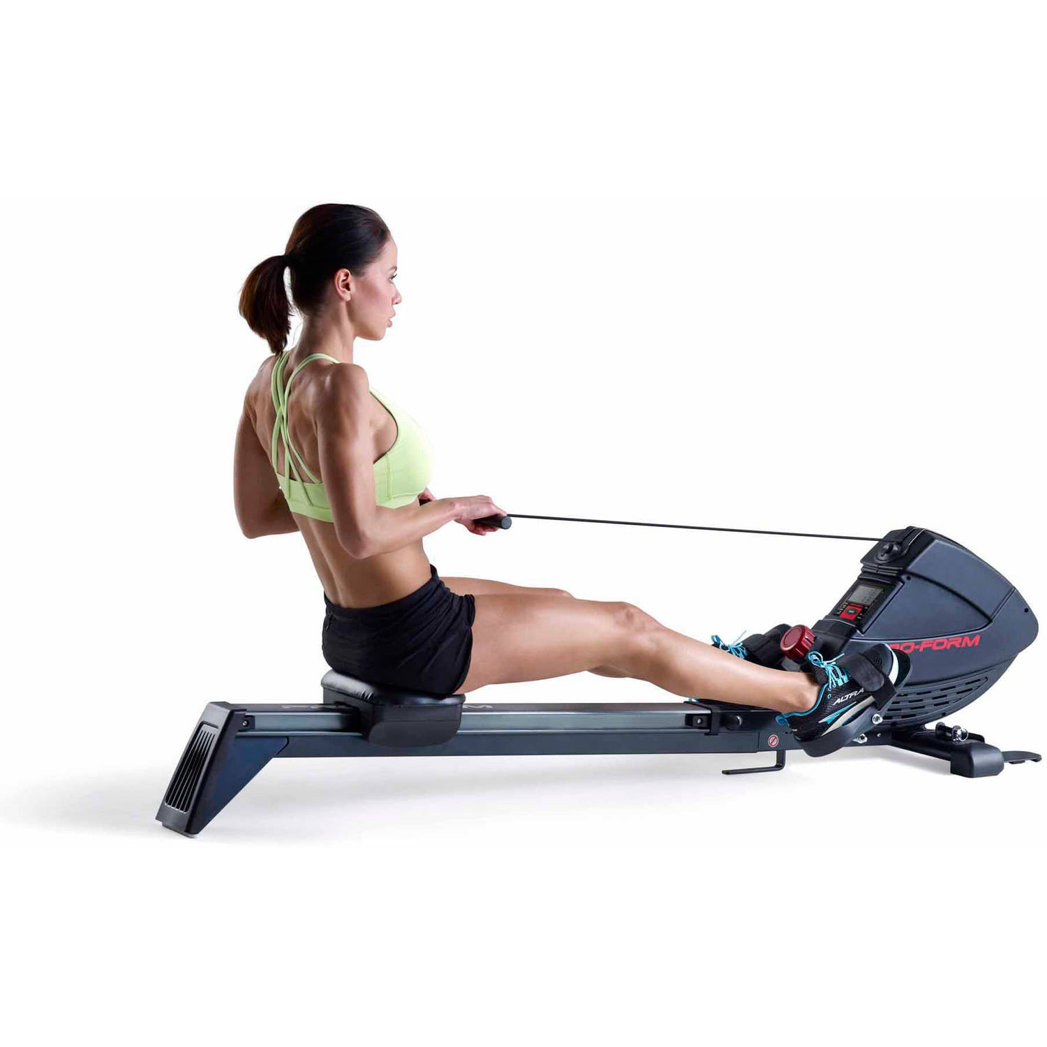 Folding Rower Fitness Workout Equipment Cardio Exercise Home Station