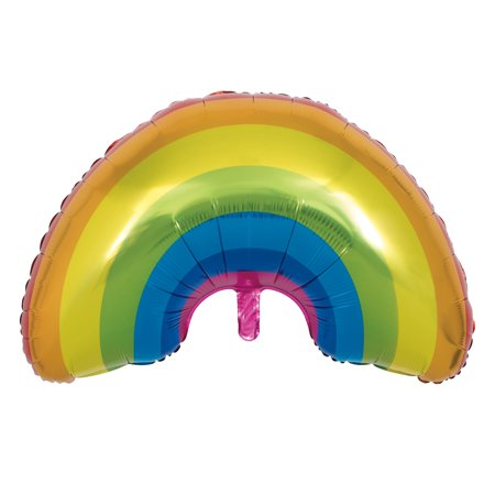 Giant Foil Rainbow Balloon, 36 in, 1ct](Rainbow Balloons)