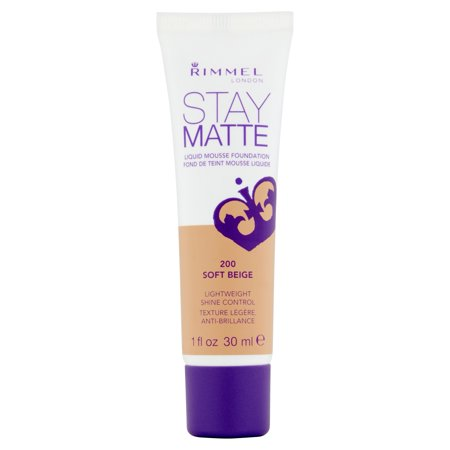 Rimmel London Stay Matte Liquid Mousse Foundation, Soft - London Drugs Halloween Makeup