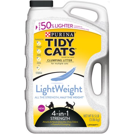 Upc 070230171276 Lightweight 4 In 1 Strength Cat Litter
