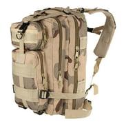 Outdoor Sport Backpack Molle Rucksacks Camping Hiking Trekking Bag Tan Camouflage