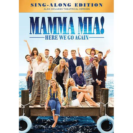 Mamma Mia! Here We Go Again (DVD) - We Go Together Like