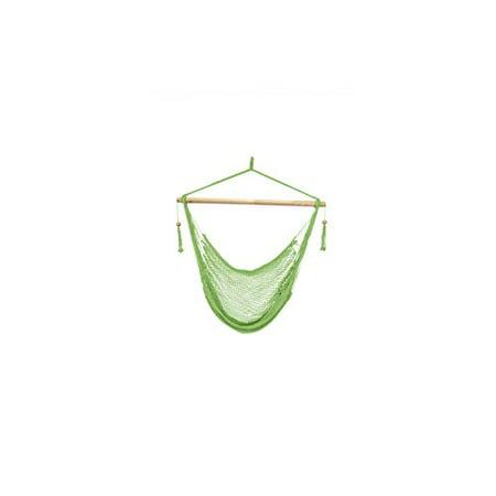 Patio Bliss Island Rope Chair - Light Green - Light Green