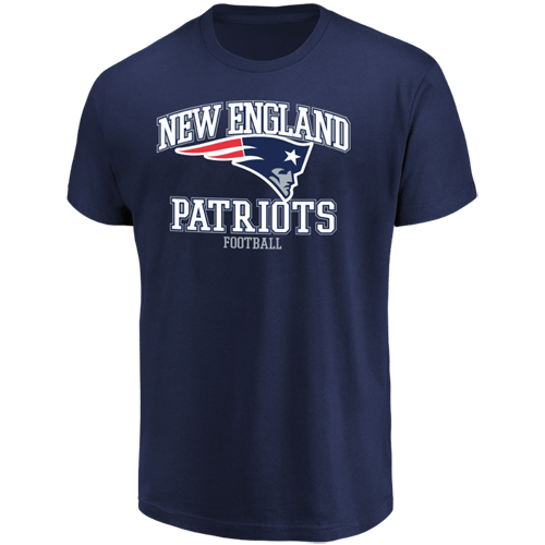 Men's Majestic Navy New England Patriots Greatness T-Shirt