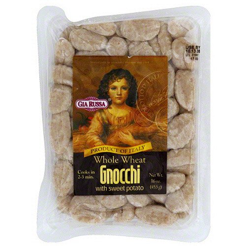 Gia Russa Whole Wheat Gnocchi with Sweet Potato, 16 oz, (Pack of 12)